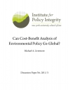 Can Cost-Benefit Analysis of Environmental Policy Go Global?