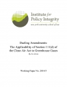 Dueling Amendments: The Applicability of Section 111(d) of the Clean Air Act to Greenhouse Gases