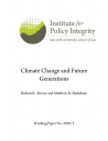 Climate Change and Future Generations