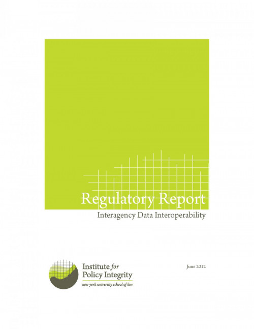 Regulatory Report