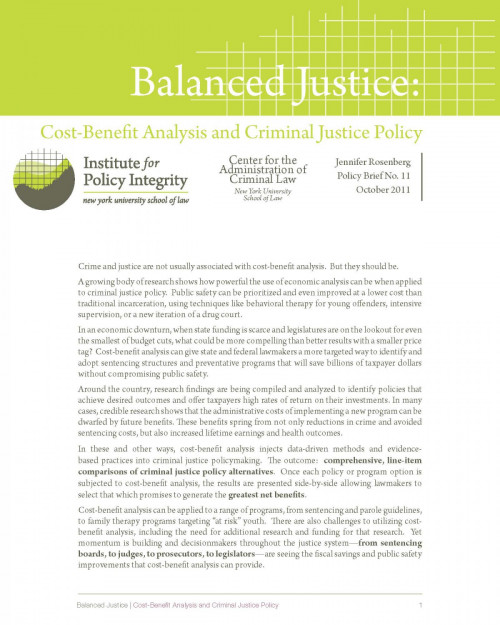 Balanced Justice Cover