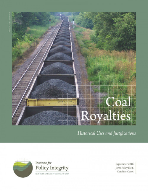 Coal Royalties