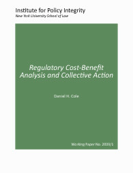Regulatory Cost-Benefit Analysis and Collective Action Cover