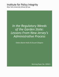 In the Regulatory Weeds of the Garden State