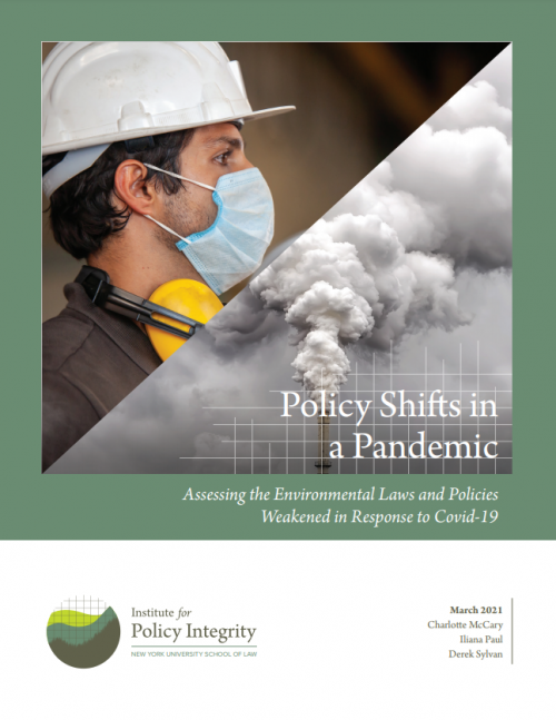 Policy Shifts in a Pandemic Cover