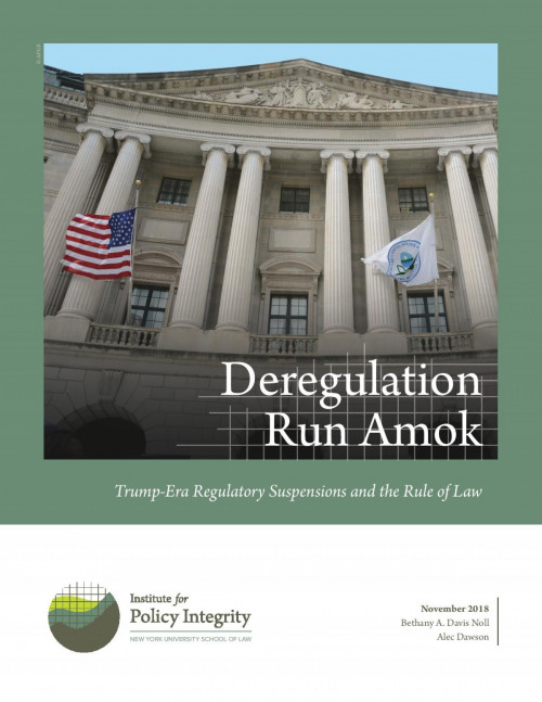 Deregulation Run Amok