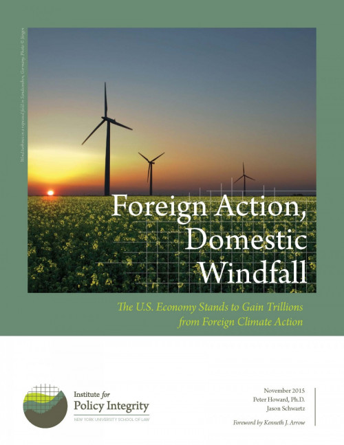 Foreign Action, Domestic Windfall
