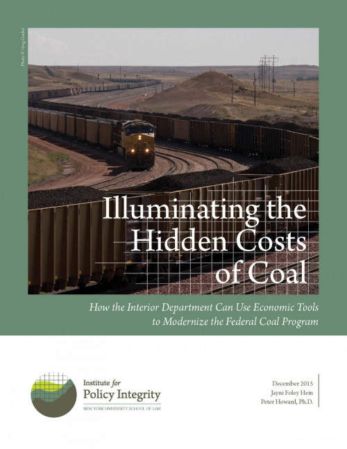Illuminating the Hidden Costs of Coal