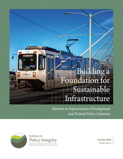 Building a Foundation for Sustainable Infrastructure Cover