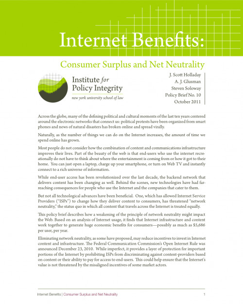 Internet Benefits Cover