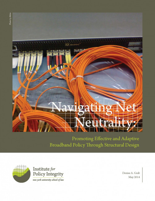 Navigating Net Neutrality Cover