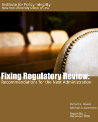 Fixing Regulatory Review Cover