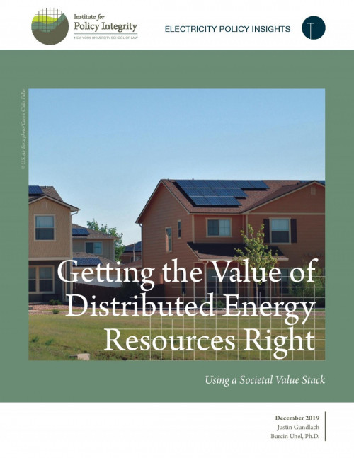 Getting the Value of Distributed Energy Resources Right