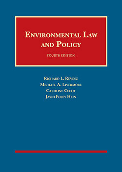 Environmental Law and Policy, 4th Ed. Cover