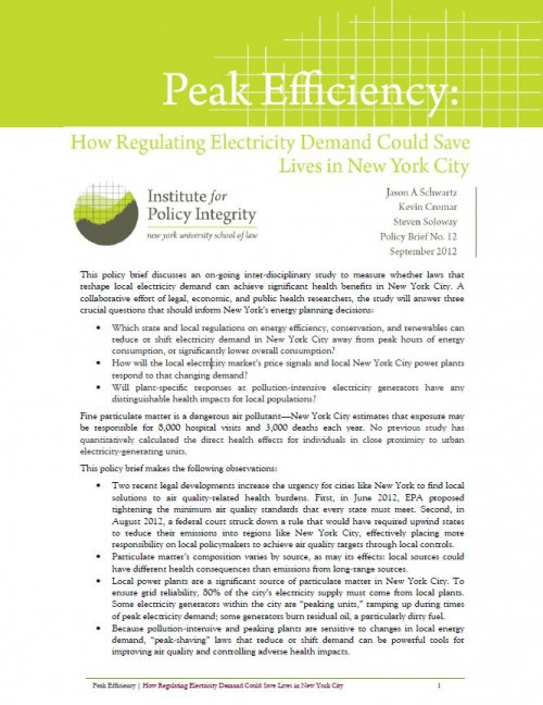 Peak Efficiency Cover