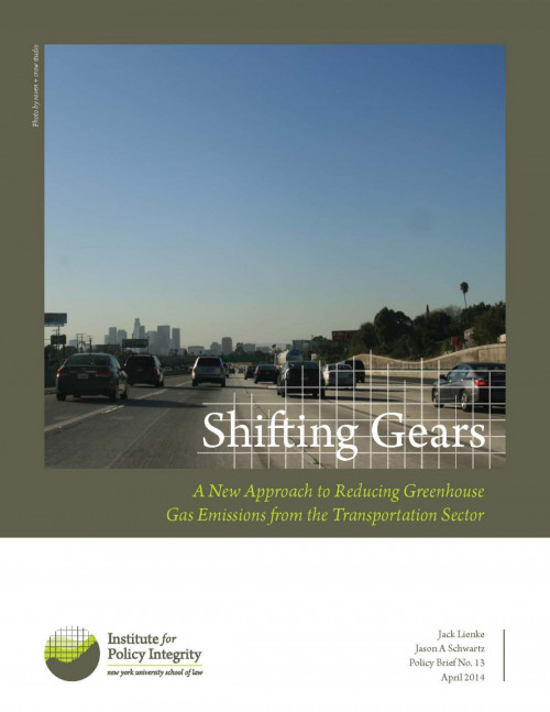 Shifting Gears Cover
