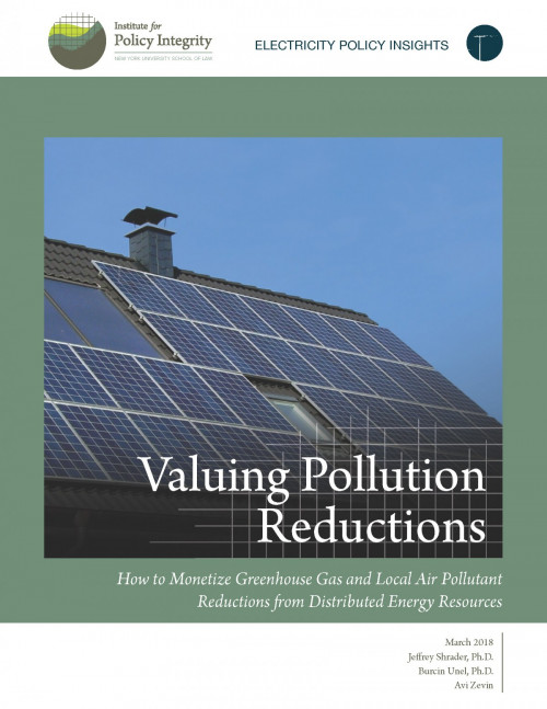 Valuing Pollution Reductions