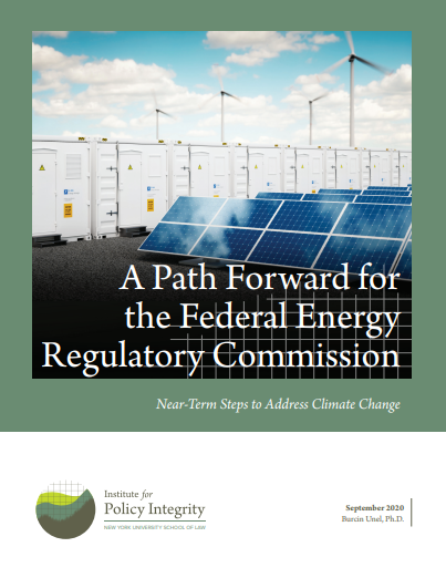 A Path Forward for the Federal Energy Regulatory Commission Cover