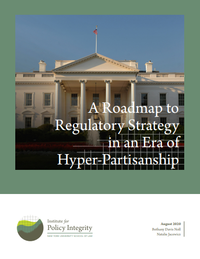 A Roadmap to Regulatory Strategy in an Era of Hyper-Partisanship Cover