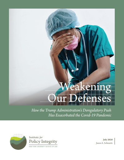 Weakening Our Defenses Cover