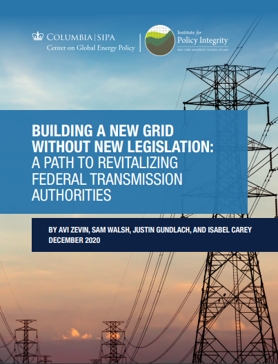 Building a New Grid Without New Legislation Cover